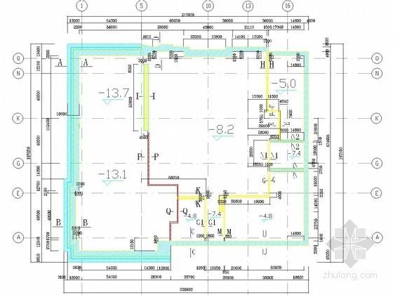 [辽宁]13米深基坑排桩加挂网喷锚支护施工方案(含施工图 计算书)
