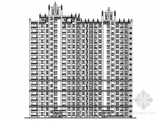 [常州]某华庭住区塑钢门窗节点详图