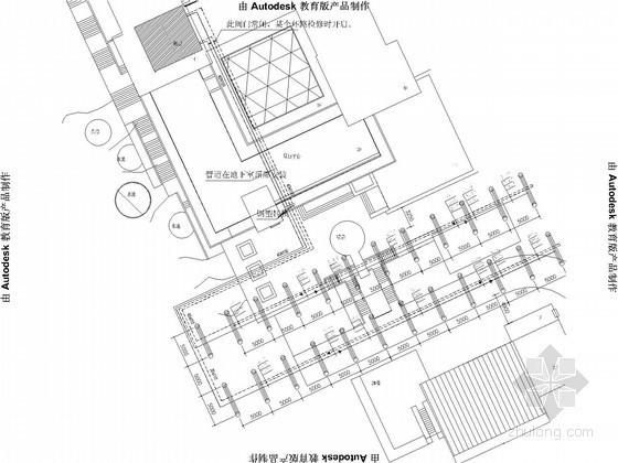 [青岛]办公楼地源热泵系统设计图纸