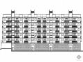 某花园式小区住宅楼群建筑施工套图(1~6号楼与配套沿街商铺)