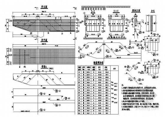 互通主线连续箱梁高架桥桥墩盖梁普通钢筋构造节点详图设计