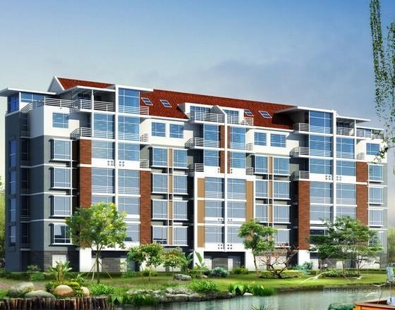 [广东]大型住宅项目铝合金门窗工程招标文件及工程量清单(含施工图纸)