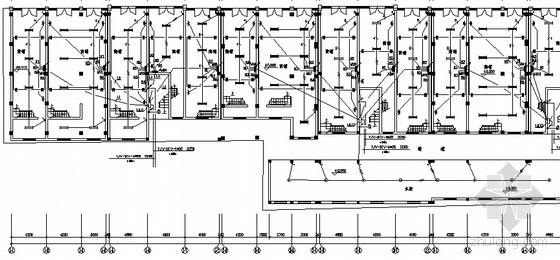 某商业广场电气平面图