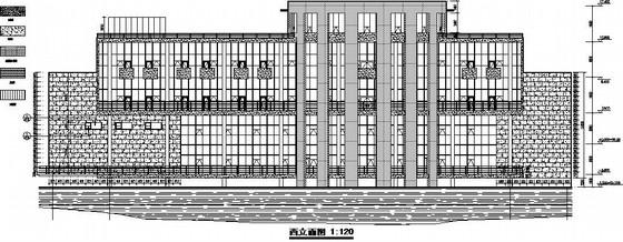 [山东]住宅楼幕墙结构施工图