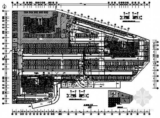 住宅楼地下车库电气施工图纸