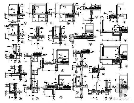 东部花园洋房4栋住宅楼建筑施工图-3