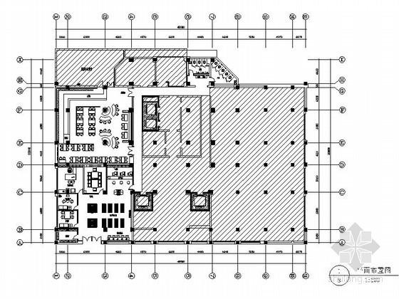 [杭州]某证券公司办公空间室内装修图(含效果)