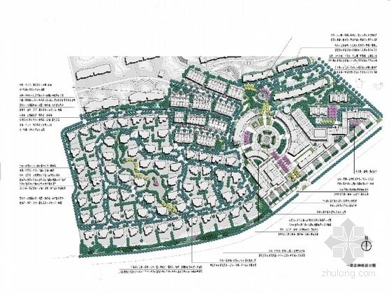 [内蒙古]西班牙文化主题综合型住宅区花园景观规划设计