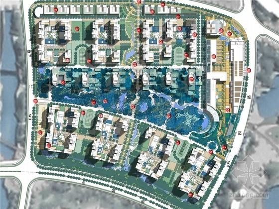 [上海]文化知性开放式国际化高端居住区规划设计方案