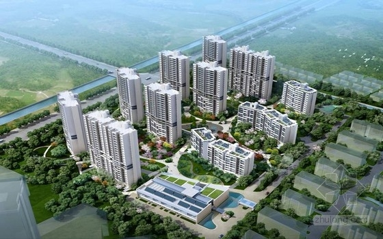 [江苏]20万平11栋大型住宅小区全套结构施工图(附配套服务用房)