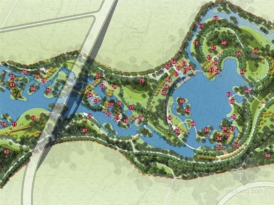 [山西]自然野趣平阳文化城市湿地公园景观规划设计方案