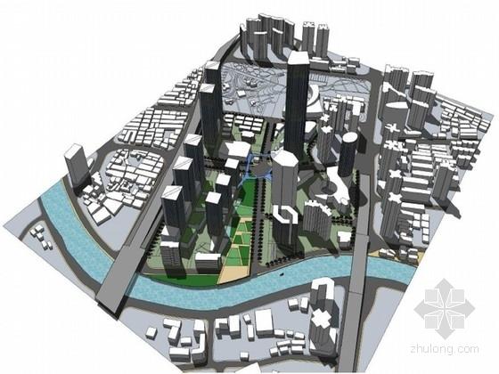 [江苏]大型商业区设计规划方案文本