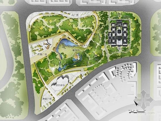 [鄂尔多斯]河套文化书画公园景观设计方案