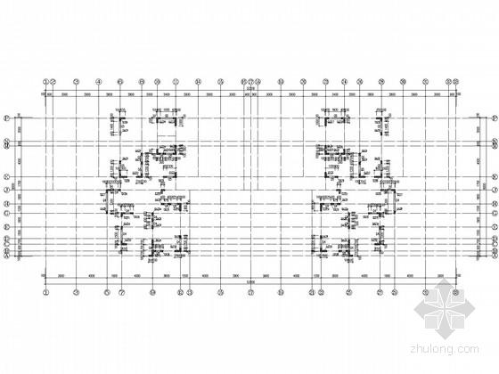 27层带地下储藏间剪力墙住宅结构施工图