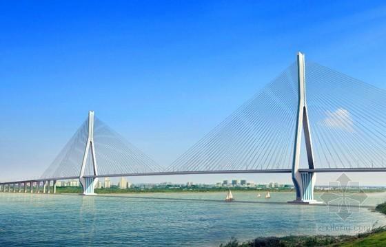 [安徽]跨江双箱钢混叠合梁斜拉桥主桥施工流程三维动画演示(3分钟)