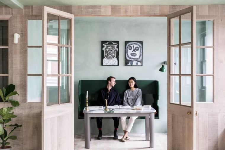 夫妻俩都是设计师,他们的家真有腔调