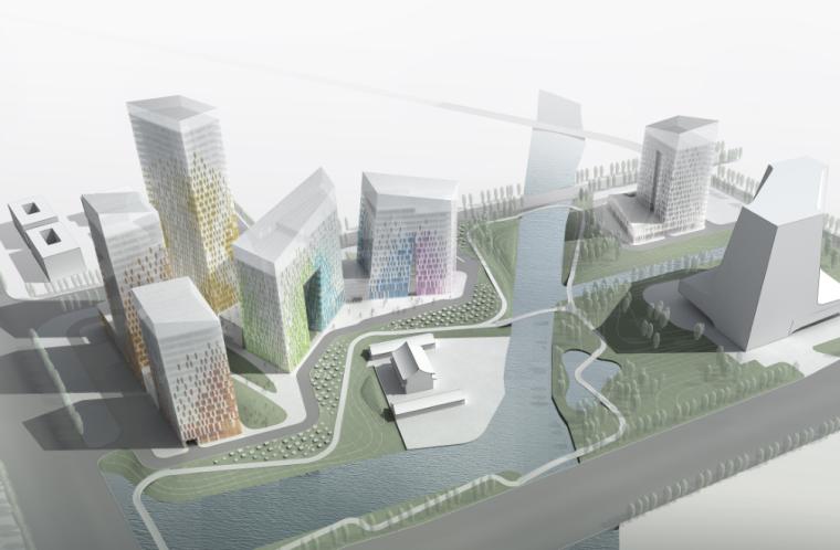 [浙江]某软件创意产业园首南街道建筑方案文本(PDF+94页)