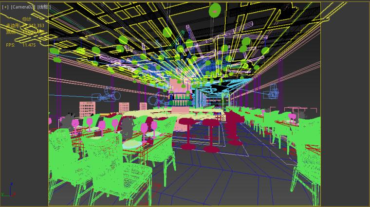 北京后海酒吧3D成套模型下载(附效果图)