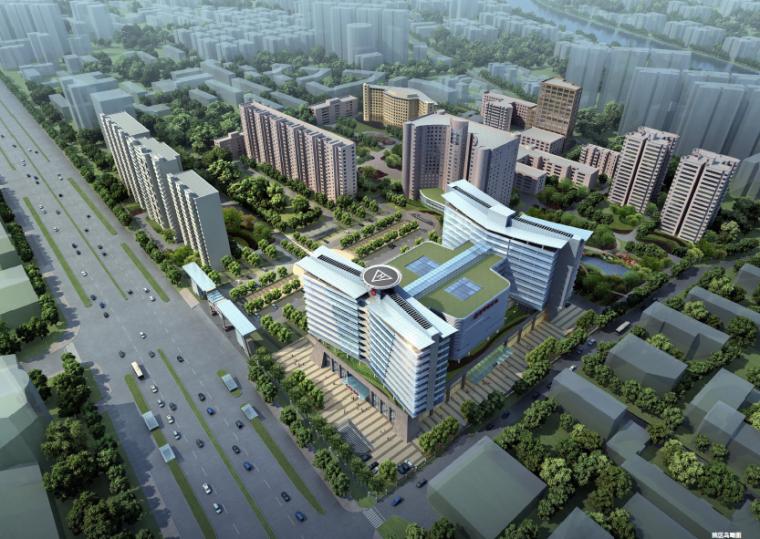 [北京]空军总医院建筑设计方案文本