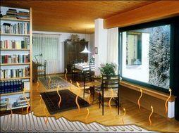 燃气壁挂炉为热源设计地板采暖要点