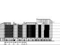 [浙江]六栋办公建筑施工图(平立剖面图)