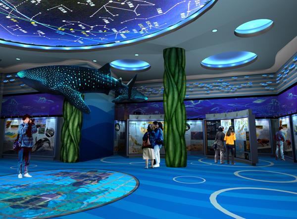 室内儿童游乐项目设计 海洋趣味展览馆策划公司