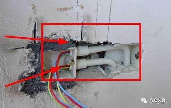 装修中电线穿管后管子直接套上还是要用胶粘好?