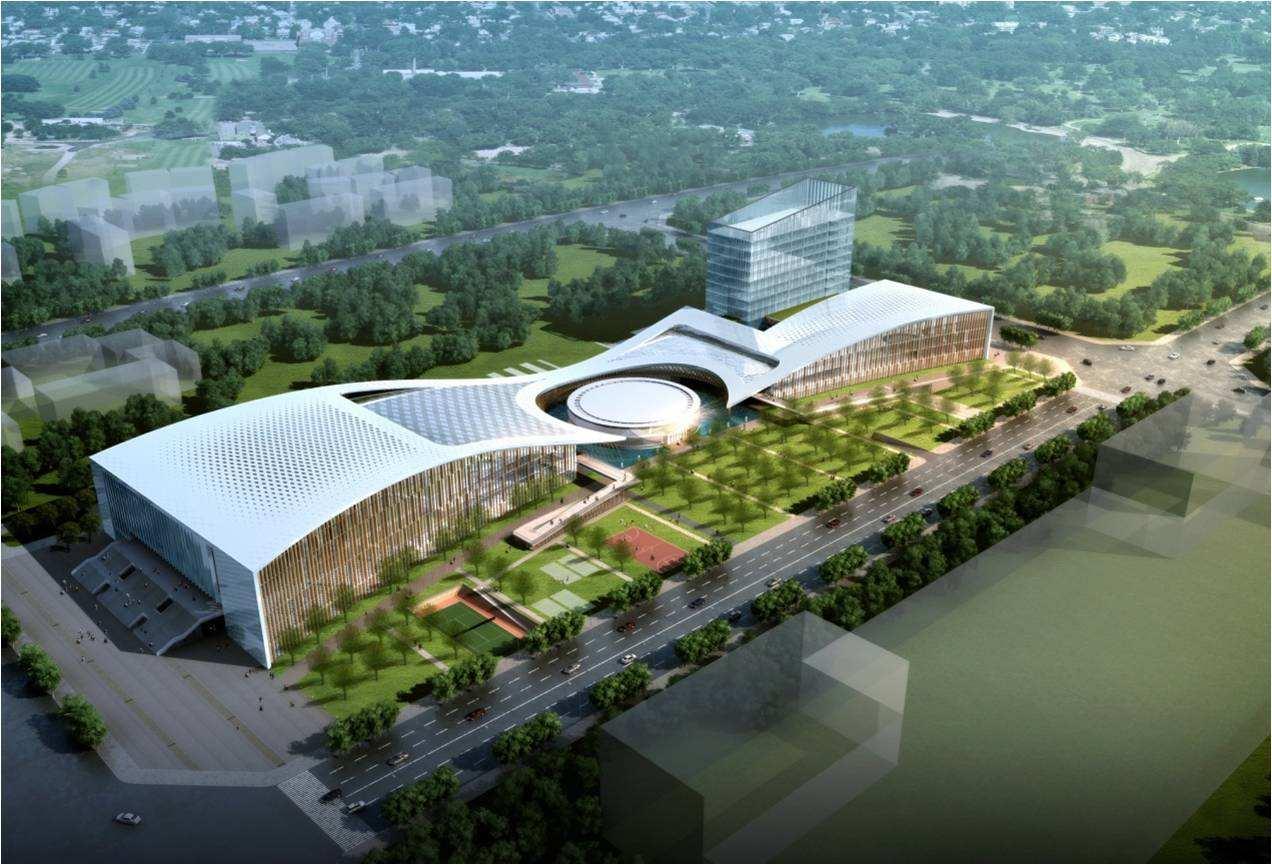 成都青白江文化体育中心二期