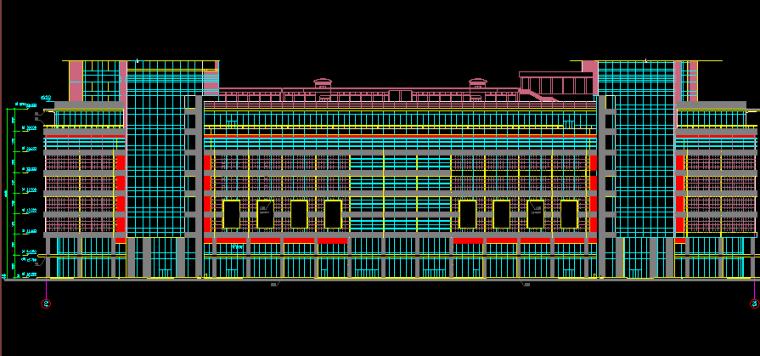 华东设计院——地上18层国际商城建筑施工图