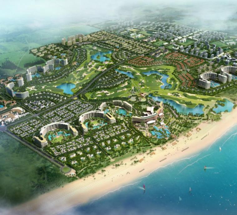 海南绿城清水湾项目悦海苑营造总结汇报