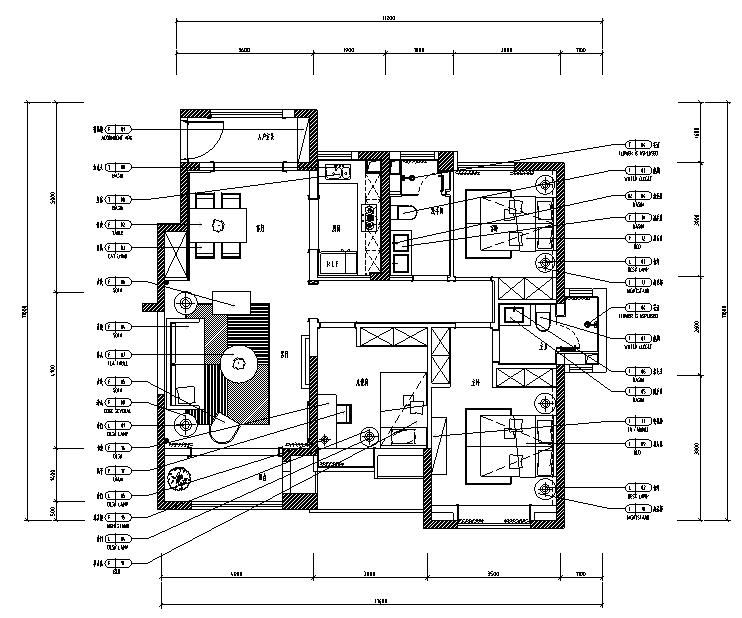[分享]展示空间设计cad平面图资料下载图片