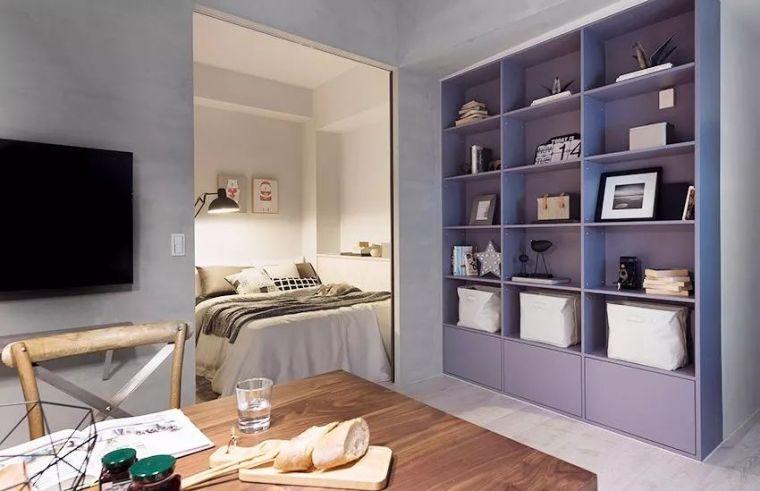 有了这40㎡的单身公寓,只想宅在家里撸猫_3