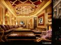 室内天下欧式富丽KTV装修设计效果图和施工图