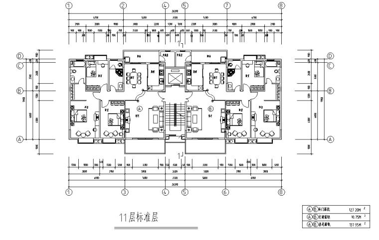 某居住小区规划设计方案及施工图(含效果图)