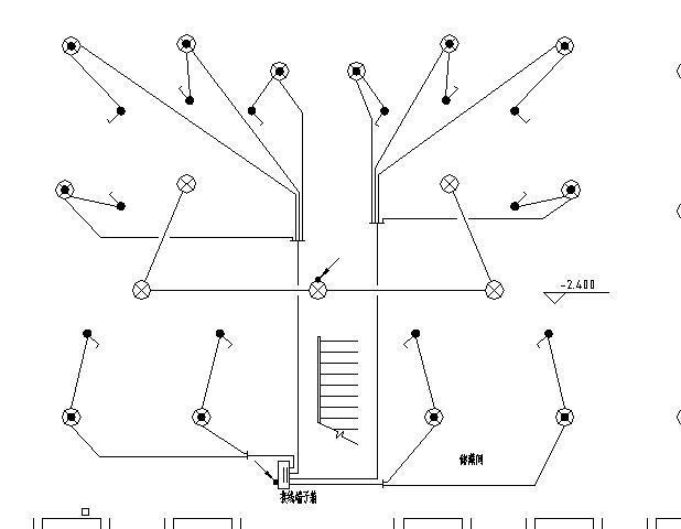 某砖混结构商住楼全套电气施工图(强电、弱电)