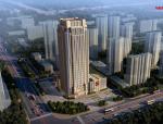 安徽舒城汇金金融大厦建筑设计方案文本
