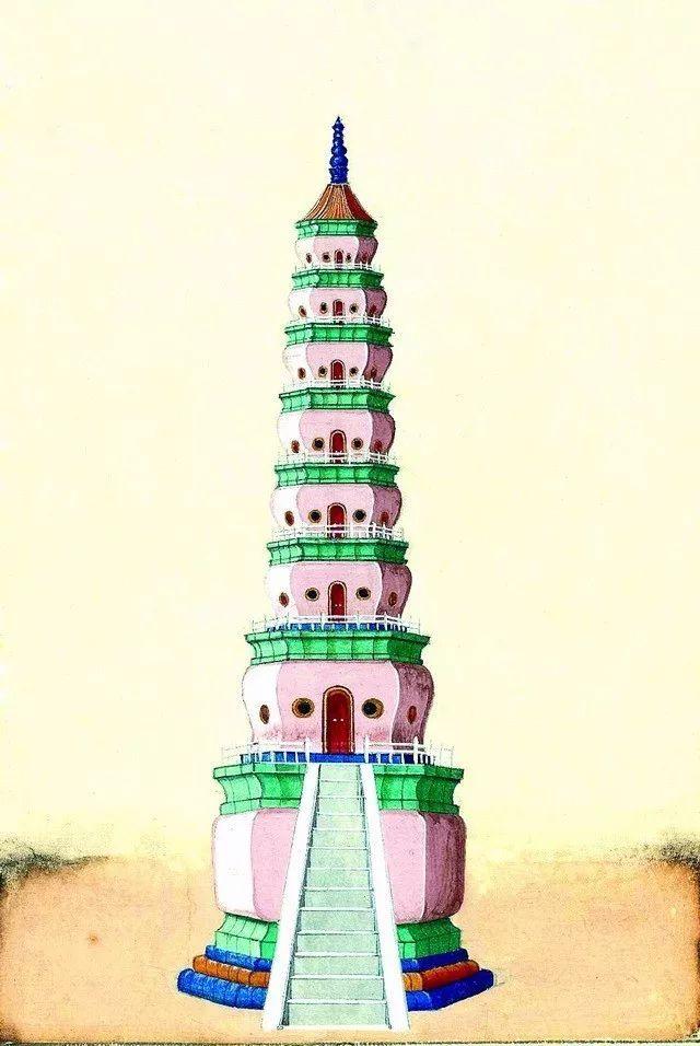 另一个视角:外国人画笔下的中式古典建筑_15