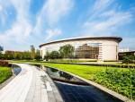 聊城东阿阿胶生物科技园周围景观