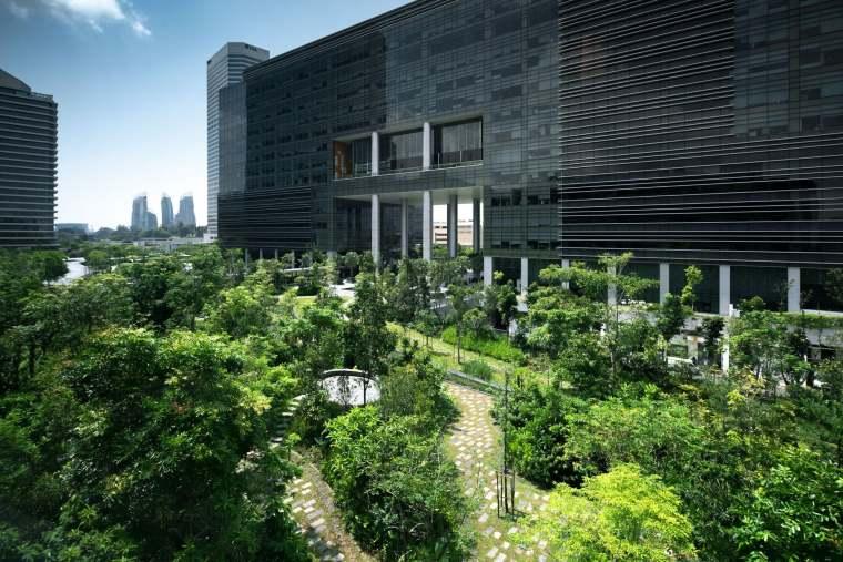 新加坡Comtech商业园区景观-4