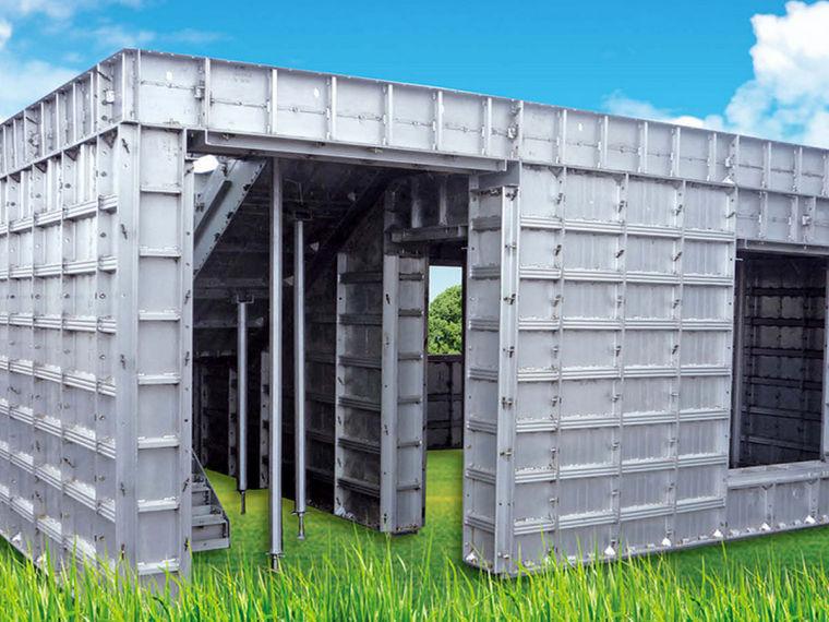 知名地产企业铝合金模板应用技术介绍