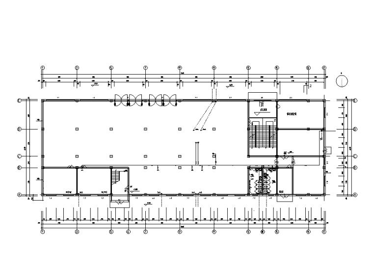 六层办公大楼给排水设计图纸