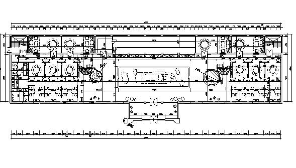 [乌鲁木齐]海洋主题餐饮空间设计施工图(含效果图+实景图)