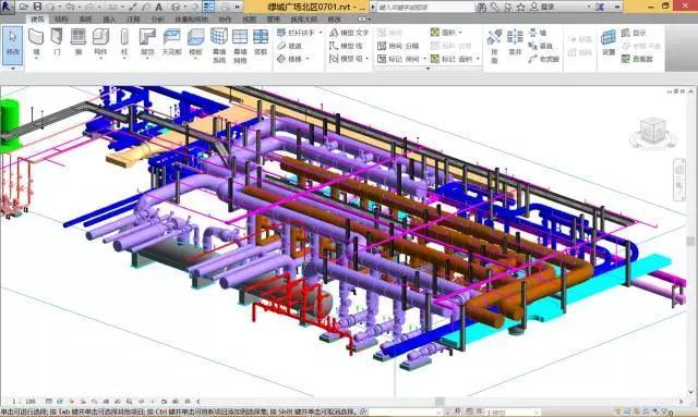 BIM技术应用于风管水管预制安装的实例赏析