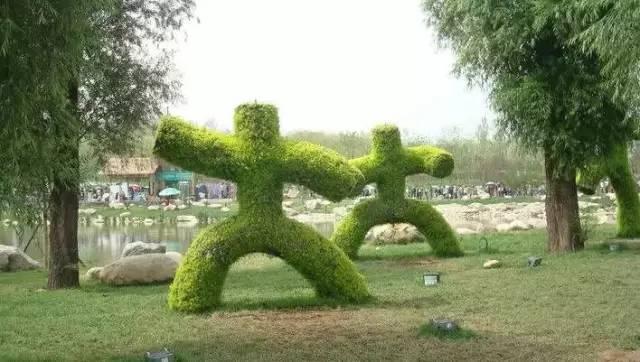 80个极美植物雕塑_22