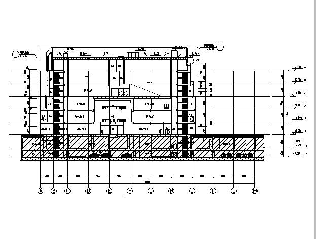 [江苏]高层多动能框剪结构商业街建筑施工图_8