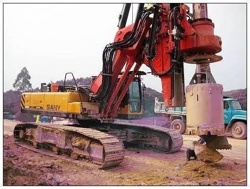 旋挖钻钻孔灌注桩施工工艺总结!