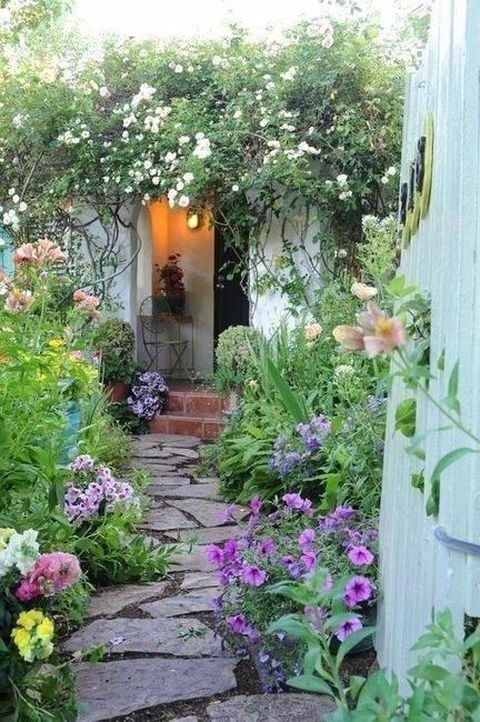 想要一个小院子,花开花落一辈子_18