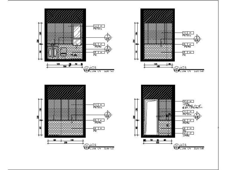 [青岛]法式浪漫精品三居室装修设计施工图(含实景图)_4