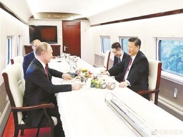 中俄基建爱的结晶:签署中-俄-欧铁路和货运合作备忘录
