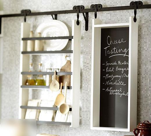 趣味又实用的黑板墙,涂涂写写一样美。_1